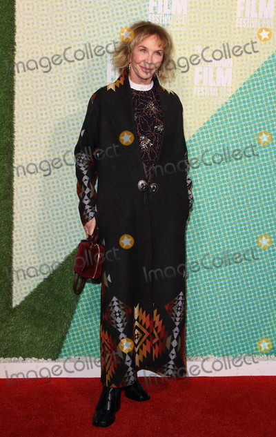 Trudie Styler Photo - London UK  Trudie Styler   at UK Premiere of Western Stars during the 63rd BFI London Film Festival at the Embankment Gardens 11th October 2019RefLMK73-S2444-121019 Keith MayhewLandmark Media WWWLMKMEDIACOM