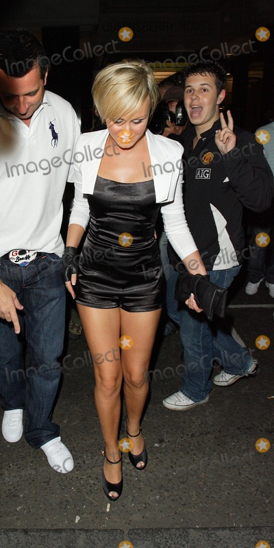 Adee Phelan Photo - London UK Big Brother contestant Chanelle Hayes at Adee Phelans Party at The Embassy Club London 9th August 2007Keith MayhewLandmark Media
