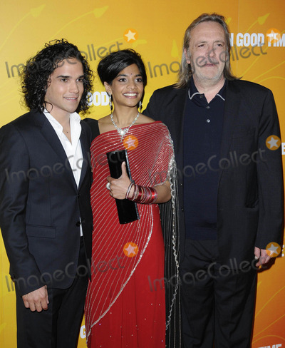 Amara Karan Photo - London UK Reece Ritchie Amara Karan and Nigel Cole at the All In Good Time gala screening held at the BFI Southbank 8th May 2012Can NguyenLandmark Media