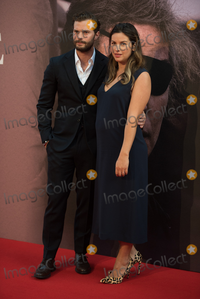Amelia Warner Photo - London UK Jamie Dornan and wife Amelia Warner    at   the Mayor Of Londons Gala and European Premiere of A Private War at The 62nd BFI London Film Festival at Cineworld Leicester Square London England UK on Saturday 20 October 2018 Ref  LMK370-S1695-211018Justin NgLandmark MediaWWWLMKMEDIACOM
