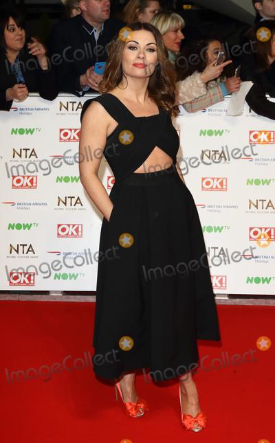 Alison King Photo - LondonUK Alison King  at the National Television Awards 2016 Red Carpet arrivals at the O2 London 20th January 2016 RefLMK73-59159-210116 Keith MayhewLandmark Media  WWWLMKMEDIACOM