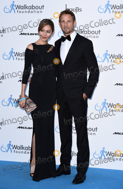 Jessica Michibata Photo - LondonUK Jessica Michibata  Jenson Button  at the Walkabout Foundations Inaugural Gala at the Natural History Museum Cromwell Rd London  on Saturday 27 June 2015Ref LMK392 -51471-290615Vivienne VincentLandmark Media WWWLMKMEDIACOM