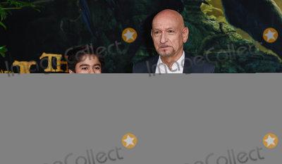 Ben Kingsley Photo - London UK Neel Sethi Sir Ben Kingsley at The UK Premiere of The Jungle Book at BFI Imax Waterloo London on Wednesday 13 April 2016Ref LMK392 -60185-140416Vivienne VincentLandmark Media WWWLMKMEDIACOM