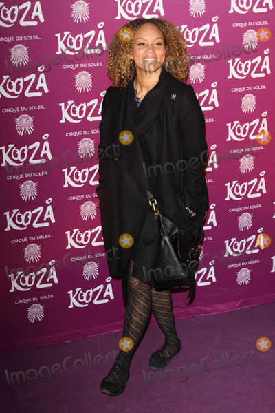 Angela Griffin Photo - London UK Angela Griffin at the VIP Night for Cirque du Soleils new production Kooza at the Royal Albert Hall 8th January 2013Keith MayhewLandmark Media