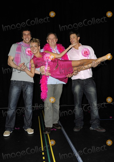 Alex Gaumond Photo - London UK Sheridan Smith (c) and (L-R) Alex Gaumond Sheridan Smith Peter Davison and Duncan James taking a break from rehearsals for Legally Blonde the musical to support Wear It Pink 28th October 2009 On Friday 30th October millions of people throughout the UK will be wearing pink and donating 2 to Breast Cancer CampaignChris JosephLandmark Media