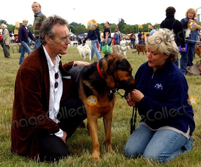 Sarah Fisher Photo - UK Anthony Head and wife Sarah Fisher at the Wag And Bone show at  the Great Park Windsor 2005RefLM314-LIB526-240707  Andy LowmaxLandmark Media