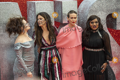 Helena Bonham-Carter Photo - London UK Helena Bonham Carter Sandra Bullock Sarah Paulson and Mindy Kaling  at the Oceans 8 UK Premiere held at Cineworld Leicester Square on June 13 2018 in LondonRef LMK386-J2210-140618Gary MitchellLandmark MediaWWWLMKMEDIACOM