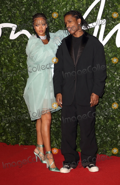 ASAP Rocky Photo - London UK Rihanna and ASAP Rocky at the Fashion Awards 2019 at Royal Albert Hall London December 2nd 2019 Ref LMK73-J5890-031219Keith MayhewLandmark MediaWWWLMKMEDIACOM