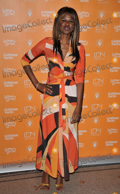 The Unit Photo - London UK June Sarpong at the United Nations Trust Fund Women United Dinner supported by the LDNY Foundation  Goldman Sachs National Portrait Gallery St Martins Place London UK on Monday 07 March 2016Ref LMK315-60062-090316CAN NGUYENLandmark MediaWWWLMKMEDIACOM