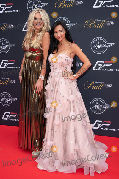 Natasha Grano Photo - London UK Natasha Grano and Claire Caudwell at Grand Prix Ball at the Hurlingham Club London on July 4th 2018Ref LMK73-J2263-050812Keith MayhewLandmark Media WWWLMKMEDIACOM