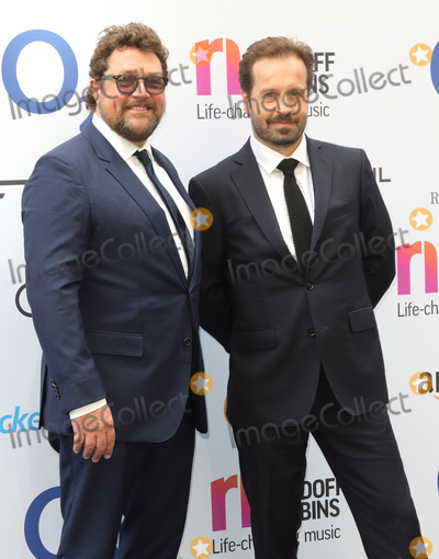 Alfie Boe Photo - London UK Michael Ball  and Alfie Boe     at the Nordoff Robbins O2 Silver Clef Awards at Grosvenor House Park Lane London on Friday 30 June 2017Ref LMK73-S431-020717Keith MayhewLandmark Media WWWLMKMEDIACOM