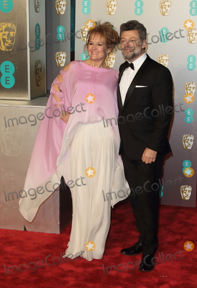 Andy Serkis Photo - London UKAndy Serkis and Lorraine Ashbourne at EE British Academy Film Awards at the Royal Albert Hall Kensington London on Sunday February 10th 2019Ref LMK73-J4345-110219Keith MayhewLandmark Media WWWLMKMEDIACOM