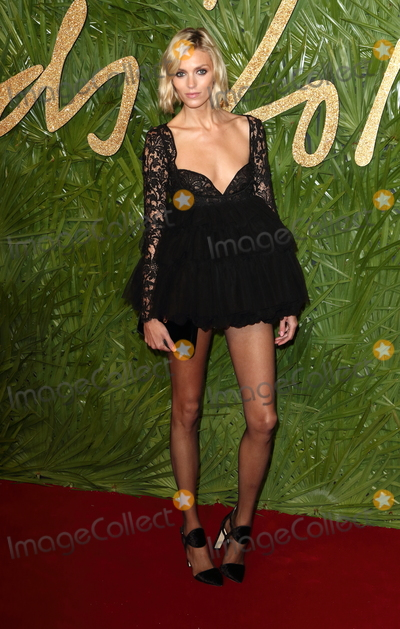 Anja Rubik Photo - London UK Anja Rubik at The Fashion Awards 2017 at the Royal Albert Hall Kensington Gore London on Monday 4 December 2017Ref LMK73-J1249-051217Keith MayhewLandmark Media WWWLMKMEDIACOM