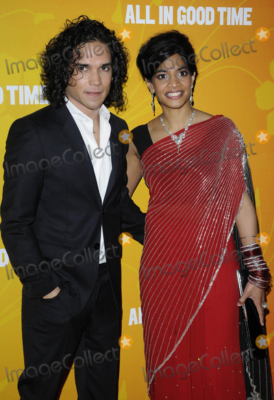 Amara Karan Photo - London UK Reece Ritchie and Amara Karan at the All In Good Time gala screening held at the BFI Southbank 8th May 2012Can NguyenLandmark Media