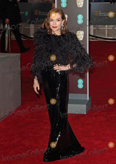 Isabelle Huppert Photo - London UK Isabelle Huppert at  EE British Academy Film Awards - Red Carpet Arrivals at the Royal Albert Hall London on Sunday February 18th 2018 Ref LMK73-J1591-190218Keith MayhewLandmark MediaWWWLMKMEDIACOM