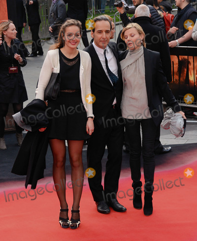 Alexandre Desplait Photo - London UK Guest Alexandre Desplait and Dominique Lemonnier at Godzilla European Premiere at the Odeon Leicester Square London on May 11th 2014Ref LMK392-48448-130514Vivienne VincentLandmark MediaWWWLMKMEDIACOM