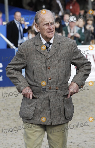 PRINCE PHILIP Photo - BerkshireWindsor UK Prince Philip Duke of Edinburgh at the Royal Windsor Horse Show held at Windsor in  Berkshire 13th May 2007Steve McGarryLandmark Media