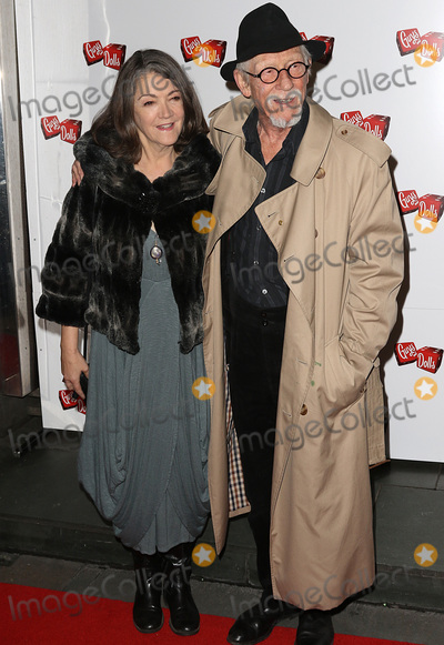 Anwen Rees-Myer Photo - London UKSir John Hurt  Anwen Rees-Myers at Guys  Dolls - Press Night at The Savoy Theatre London UK 06 January 2016 Ref LMK394-58765-070116Brett D CoveLandmark Media WWWLMKMEDIACOM