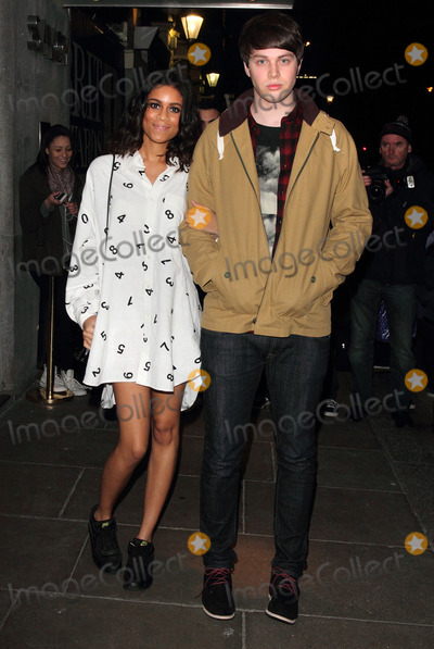 Aluna George Photo - London UK Aluna Francis and George Reid of AlunaGeorge arriving at the Brit Awards 2013 Nominations Launch at the Savoy Hotel The Strand London January 10th 2013Keith MayhewLandmark Media