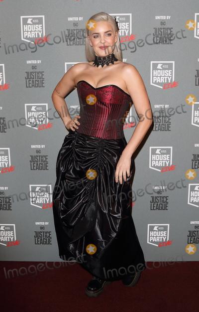 Ann Marie Photo - London UK Anne Marie at KISS House Party at SSE Arena Wembley London on Thursday 26 October 2017Ref LMK73-J1017-271017Keith MayhewLandmark MediaWWWLMKMEDIACOM
