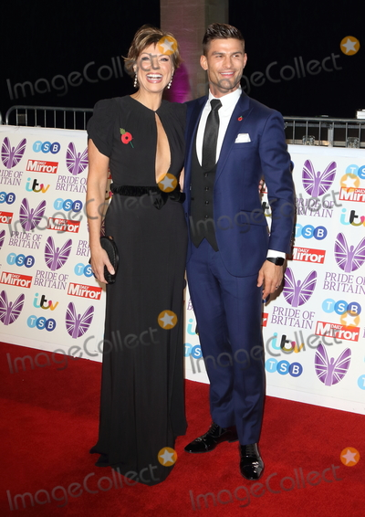 Aljaz Skorjanec Photo - London UK Kate Silverton and Aljaz Skorjanec at Pride of Britain Awards 2018 at the Grosvenor House Park Lane London on Monday 29 October 2018Ref LMK73-J2870-301018Keith Mayhew Landmark Media WWWLMKMEDIACOM  Georgia Toffolo