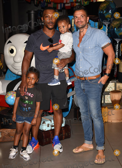 Ashley Walters Photo - London UK Ashley Walters Peter Andre   at The Global Premiere of Thomas And friends Big World Big Adventures The Movie held at Vue West End Leicester Square London on Sunday 7 July 2018Ref LMK392-S1532-070718Vivienne VincentLandmark Media WWWLMKMEDIACOM