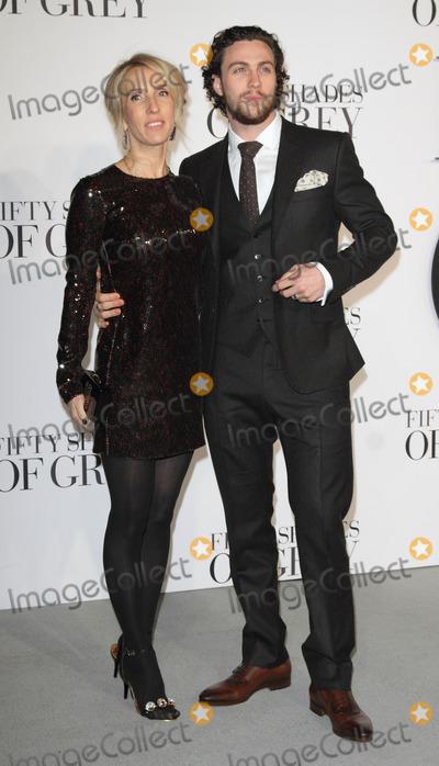 Aaron Johnson Photo - London UK Director  Sam Taylor-Johnson and Aaron Johnson  at the Fifty  Shades Of Grey UK Premiere  Odeon Leicester Square London  12th o February 2015RefLMK73-50587-1302115 Keith MayhewLandmark MediaWWWLMKMEDIACOM