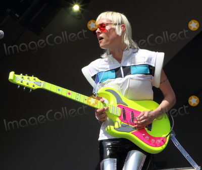 Alice Go Photo - London UK  Alice Go of Dream Wife performing live on stage during the All Points East Festival at Victoria Park in London 25th May 2019 RefLMK73-2480-260519Keith MayhewLandmark MediaWWWLMKMEDIACOM