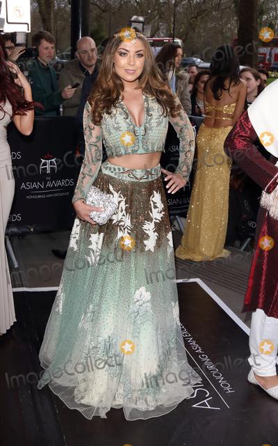 Abi Clarke Photo - London UK Abi Clarke at the Asian Awards 2016 Grosvenor House Hotel Park Lane 8th April 2016 Ref LMK73-60215-090416Keith MayhewLandmark Media WWWLMKMEDIACOM