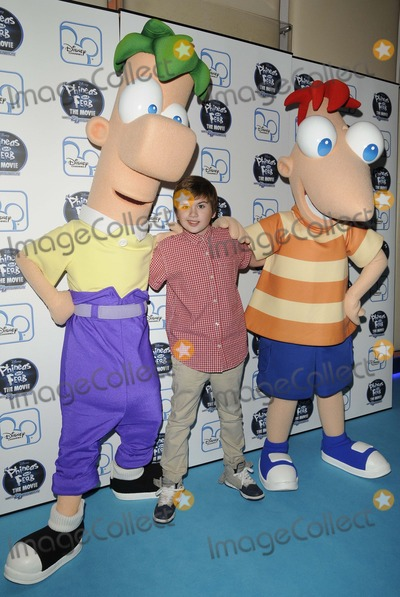 Theo Stevenson Photo - London UK Theo Stevenson at the Phineas  Ferb  Across the 2nd Dimension UK TV premiere held at the Apollo Piccadilly Circus cinema 24th September 2011Can NguyenLandmark Media