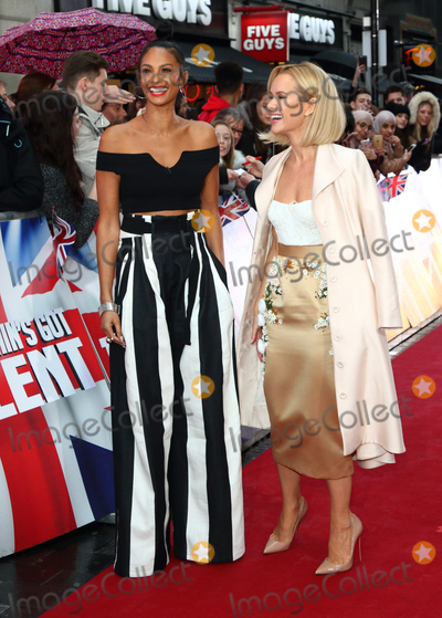 Alesha Dixon Photo - London UK Alesha Dixon and Amanda Holden  at Britains Got Talent photocall held at The London Palladium Argyll Street London on Sunday 29 January 2017Ref LMK73-62720-290117Keith MayhewLandmark Media  WWWLMKMEDIACOM