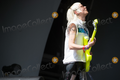 Alice Go Photo - London UK Guitarist Alice Go   of Dream Wife     performing live on stage during the All Points East Festival at Victoria Park in London 25th May 2019 RefLMK370-2481-260519Justin NgLandmark MediaWWWLMKMEDIACOM