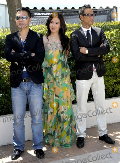 Anthony Wong Photo - Cannes France Michelle Ye Anthony Wong and Simon Yam at the 62nd Annual Cannes Film Festival 17th May 2009SydLandmark Media
