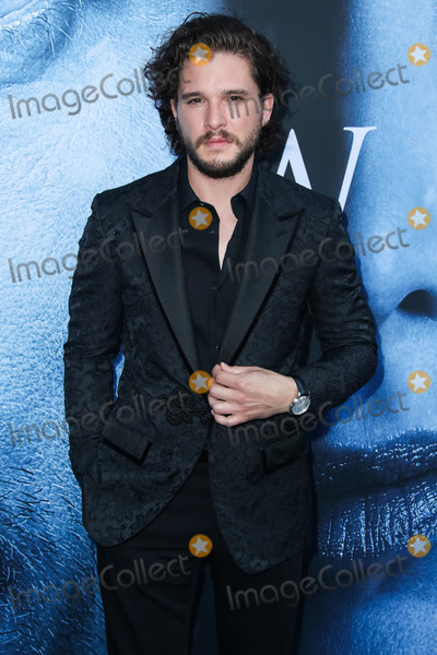 Dolce and Gabbana Photo - (FILE) Kit Harington Checks Into Rehab for Stress and Alcohol LOS ANGELES CALIFORNIA USA - JULY 12 Actor Kit Harington wearing Dolce and Gabbana arrives at the Los Angeles Premiere Of HBOs Game Of Thrones Season 7 held at the Walt Disney Concert Hall on July 12 2017 in Los Angeles California United States (Photo by Xavier CollinImage Press Agency)