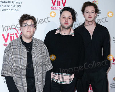Elizabeth Glaser Photo - CULVER CITY LOS ANGELES CALIFORNIA USA - OCTOBER 27 Sam Price Mitchy Collins and Jordan Greenwald of Lovelytheband arrive at the Elizabeth Glaser Pediatric AIDS Foundations 30th Annual A Time for Heroes Family Festival held at Smashbox Studios on October 27 2019 in Culver City Los Angeles California United States (Photo by Xavier CollinImage Press Agency)