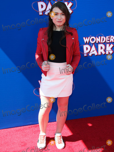 Brianna Denski Photo - WESTWOOD LOS ANGELES CA USA - MARCH 10 Actress Brianna Denski arrives at the Los Angeles Premiere Of Paramount Animation and Nickelodeon Movies Wonder Park held at the Regency Village Theatre on March 10 2019 in Westwood Los Angeles California United States (Photo by Xavier CollinImage Press Agency)