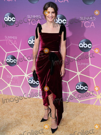Anita Ko Photo - WEST HOLLYWOOD LOS ANGELES CALIFORNIA USA - AUGUST 05 Actress Cobie Smulders wearing Reem Acra with Anita Ko jewelry and a Jimmy Choo clutch and shoes arrives at the Disney ABC Television Group TCA Summer Press Tour All-Star Party 2019 held at Soho House West Hollywood on August 5 2019 in West Hollywood Los Angeles California United States (Photo by Xavier CollinImage Press Agency)