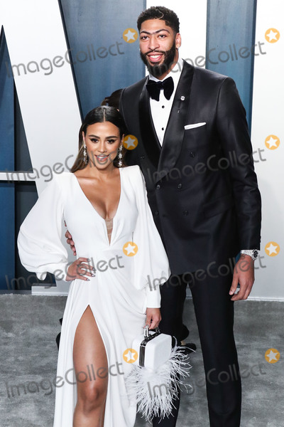 Anthony Davis Photo - BEVERLY HILLS LOS ANGELES CALIFORNIA USA - FEBRUARY 09 Marlen P and Anthony Davis arrive at the 2020 Vanity Fair Oscar Party held at the Wallis Annenberg Center for the Performing Arts on February 9 2020 in Beverly Hills Los Angeles California United States (Photo by Xavier CollinImage Press Agency)