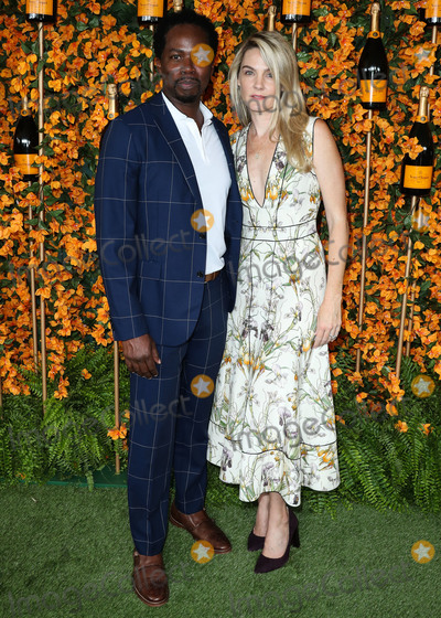 Harold Perrineau Photo - PACIFIC PALISADES LOS ANGELES CA USA - OCTOBER 06 Harold Perrineau Brittany Perrineau at the 9th Annual Veuve Clicquot Polo Classic Los Angeles held at Will Rogers State Historic Park on October 6 2018 in Pacific Palisades Los Angeles California United States (Photo by Xavier CollinImage Press Agency)