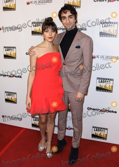 Alex Wolff Photo - HOLLYWOOD LOS ANGELES CA USA - JANUARY 09 Gianna Reisen and Alex Wolff arrive at the 2nd Annual Los Angeles Online Film Critics Society Award Ceremony held at the Taglyan Cultural Complex on January 9 2019 in Hollywood Los Angeles California United States (Photo by David AcostaImage Press Agency)