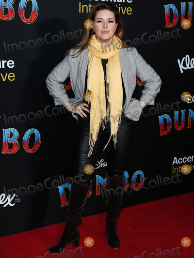 Alicia Machado Photo - HOLLYWOOD LOS ANGELES CA USA - MARCH 11 Actress Alicia Machado arrives at the World Premiere Of Disneys Dumbo held at The Ray Dolby Ballroom and El Capitan Theatre on March 11 2019 in Hollywood Los Angeles California United States (Photo by Xavier CollinImage Press Agency)