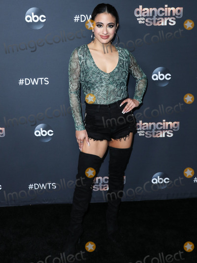 Ally Brooke Photo - LOS ANGELES CALIFORNIA USA - NOVEMBER 03 Ally Brooke arrives at ABCs Dancing With The Stars Season 28 Top Six Finalists Party held at Dominique Ansel at The Grove on November 4 2019 in Los Angeles California United States (Photo by Xavier CollinImage Press Agency)