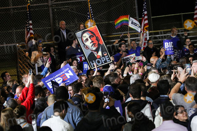 Vice President Joe Biden Photo - BALDWIN HILLS LOS ANGELES CALIFORNIA USA - MARCH 03 Atmosphere as Former Vice President Joe Biden 2020 Democratic presidential candidate speaks while his wife Jill Biden and sister Valerie Biden stand during the Jill and Joe Biden 2020 Super Tuesday Los Angeles Rally held at the Baldwin Hills Recreation Center on March 3 2020 in Baldwin Hills Los Angeles California United States (Photo by Xavier CollinImage Press Agency)