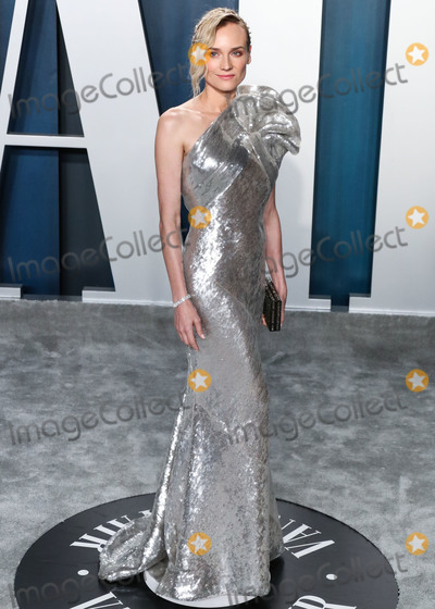 Diane Kruger Photo - BEVERLY HILLS LOS ANGELES CALIFORNIA USA - FEBRUARY 09 Actress Diane Kruger arrives at the 2020 Vanity Fair Oscar Party held at the Wallis Annenberg Center for the Performing Arts on February 9 2020 in Beverly Hills Los Angeles California United States (Photo by Xavier CollinImage Press Agency)