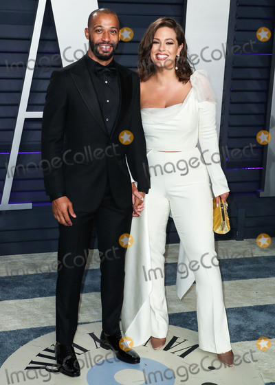 Wallis Annenberg Photo - (FILE) Ashley Graham pregnant with first child with husband Justin Ervin BEVERLY HILLS LOS ANGELES CALIFORNIA USA - FEBRUARY 24 Director Justin Ervin and wifemodel Ashley Graham arrive at the 2019 Vanity Fair Oscar Party held at the Wallis Annenberg Center for the Performing Arts on February 24 2019 in Beverly Hills Los Angeles California United States (Photo by Xavier CollinImage Press Agency)