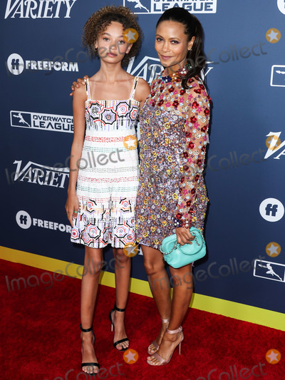 Nico Parker Photo - HOLLYWOOD LOS ANGELES CALIFORNIA USA - AUGUST 06 Actress Nico Parker and motheractress Thandie Newton arrive at Varietys Power Of Young Hollywood 2019 held at the h Club Los Angeles on August 6 2019 in Hollywood Los Angeles California United States (Photo by Xavier CollinImage Press Agency)