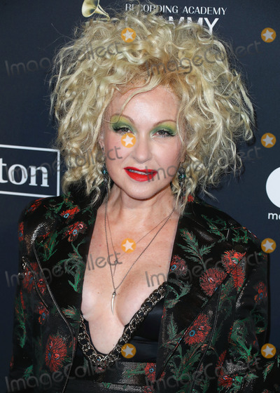 Clive Davis Photo - BEVERLY HILLS LOS ANGELES CALIFORNIA USA - JANUARY 25 Cyndi Lauper arrives at The Recording Academy And Clive Davis 2020 Pre-GRAMMY Gala held at The Beverly Hilton Hotel on January 25 2020 in Beverly Hills Los Angeles California United States (Photo by Xavier CollinImage Press Agency)