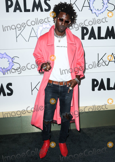 Saint JHN Photo - LAS VEGAS NEVADA USA - APRIL 05 Saint Jhn (Carlos St John) arrives at the Kaos Dayclub and Nightclub Grand Opening Weekend At Palms Casino Resort held at Kaos Dayclub and Nightclub at Palms Casino Resort on April 5 2019 in Las Vegas Nevada United States (Photo by Xavier CollinImage Press Agency)