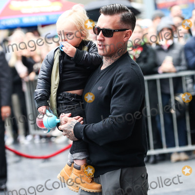 Carey Hart Photo - HOLLYWOOD LOS ANGELES CA USA - FEBRUARY 05 Jameson Moon Hart and father Carey Hart attend a ceremony honoring singer Pnk (Pink Alecia Moore) With Star On The Hollywood Walk Of Fame - Dedication of the 2656th star on the Walk of Fame in the category of Recording on February 5 2019 in Hollywood Los Angeles California United States (Photo by Xavier CollinImage Press Agency)