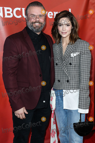 Janet Montgomery Photo - PASADENA LOS ANGELES CALIFORNIA USA - JANUARY 11 Tyler Labine and Janet Montgomery arrive at the 2020 NBCUniversal Winter TCA Press Tour held at The Langham Huntington Hotel on January 11 2020 in Pasadena Los Angeles California United States (Photo by Xavier CollinImage Press Agency)